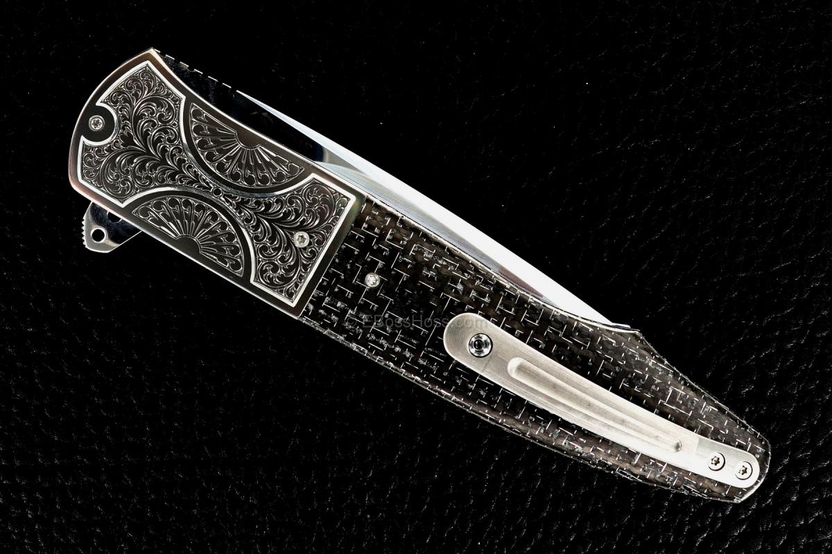 Andre Thorburn Custom Deluxe Engraved L20 Flipper