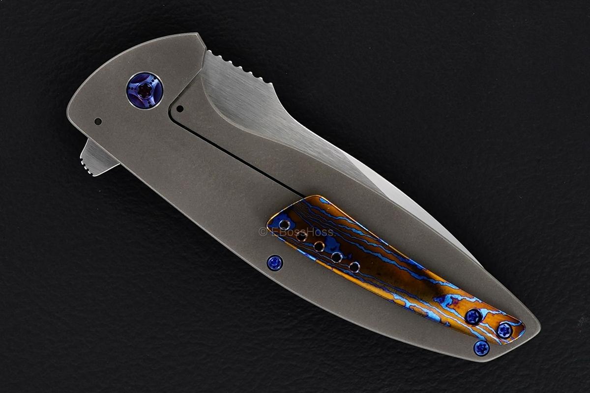 Peter Carey Custom Cayman Tanto Flipper
