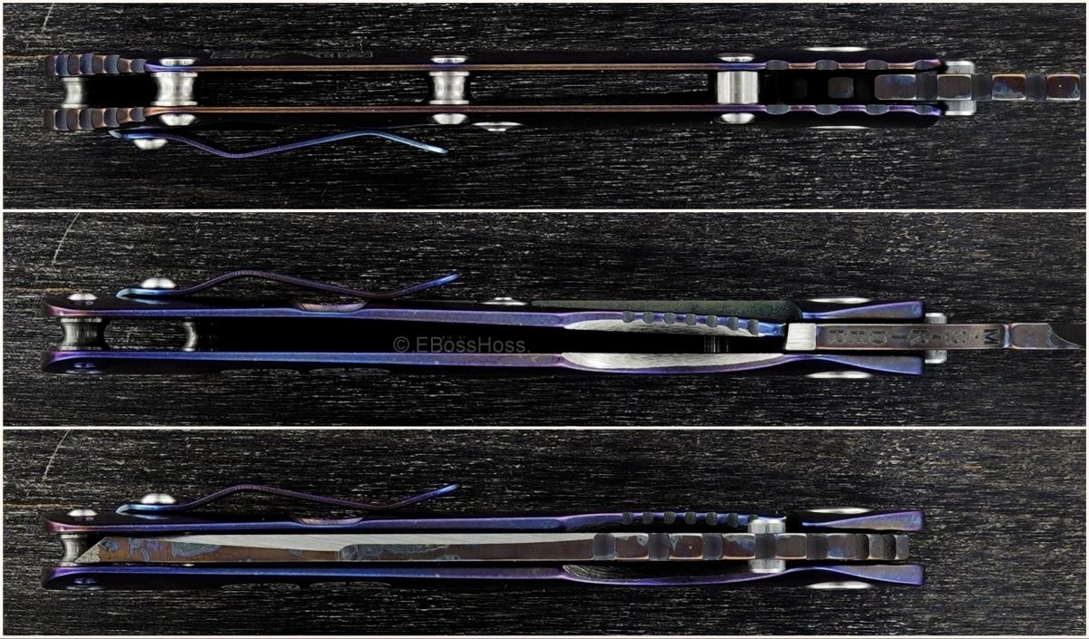Mick Strider - Jeremy Horton-ground Custom Strike Plate Tanto Harpoon XL SnG