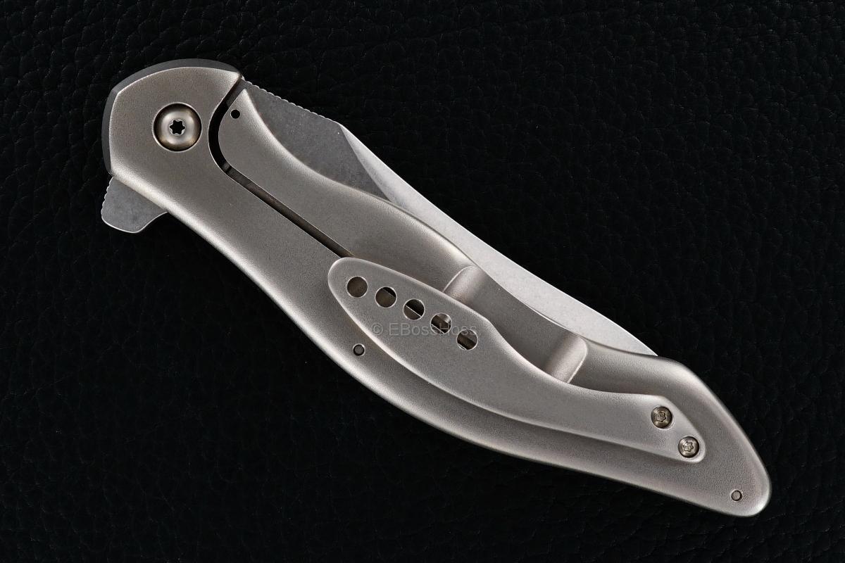 Gerry McGinnis Custom Peligro R Flipper