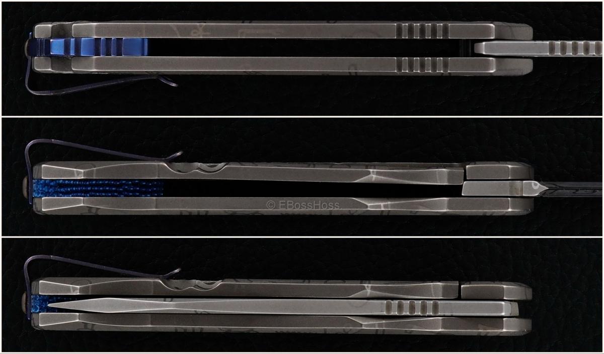 Deryk Munroe Custom Ghost Legion Framelock Folder