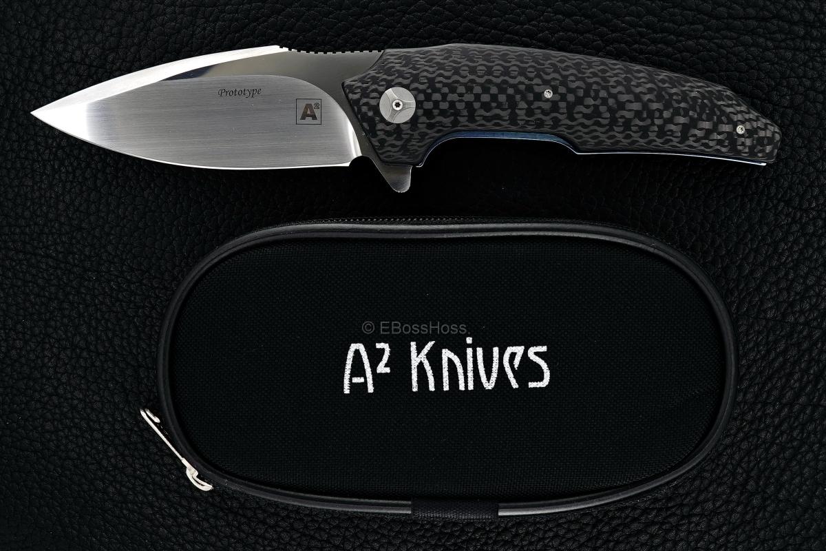 A2 Knives (by Andre Thorburn & Andre van Heerden) & Tashi Bharucha Custom A6 Flipper Prototype