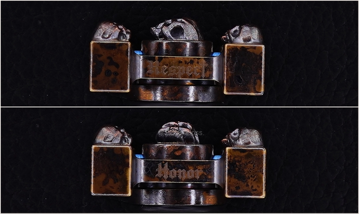 Steel Flame 3-D Copper Mini Warrior Ring Spin KillBoX - 3-D Slug