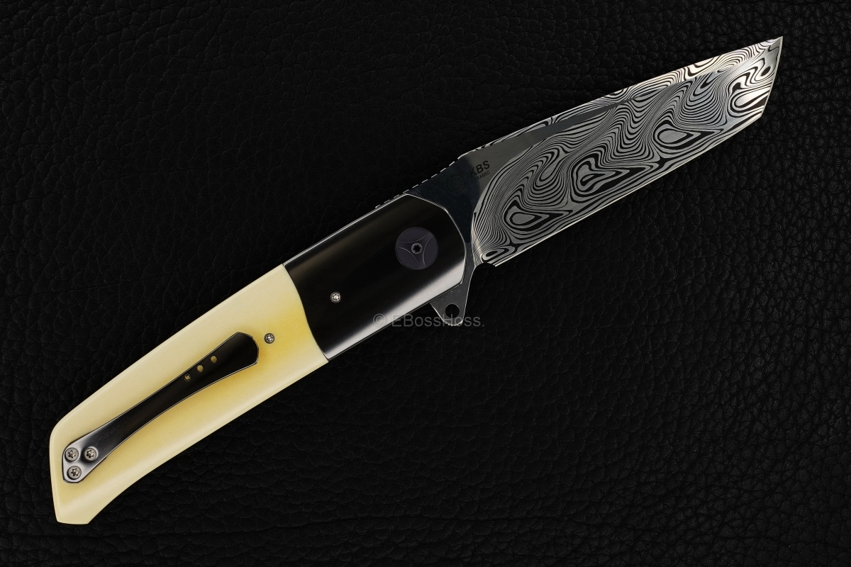 A2 Knives (by Andre Thorburn & Andre van Heerden) Custom A7 Tanto Premium Flipper