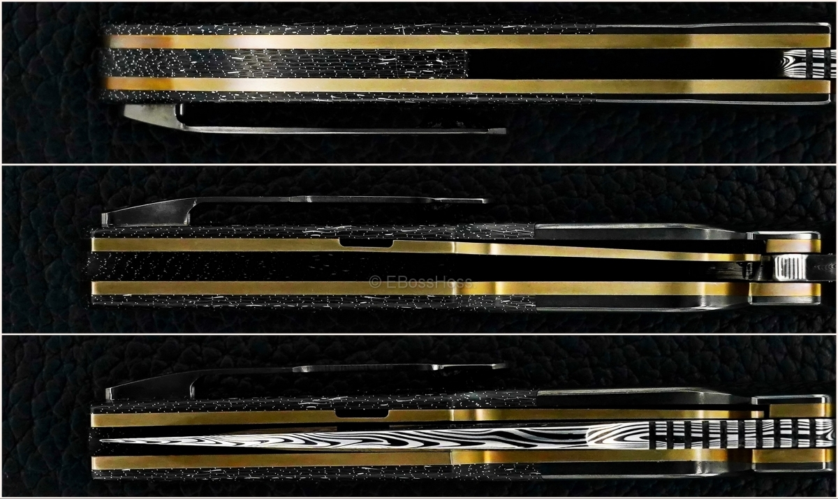 A2 Knives (Andre Thorburn & Andre van Heerden) & Tashi Bharucha Custom A6 Premium Flipper Collaboration