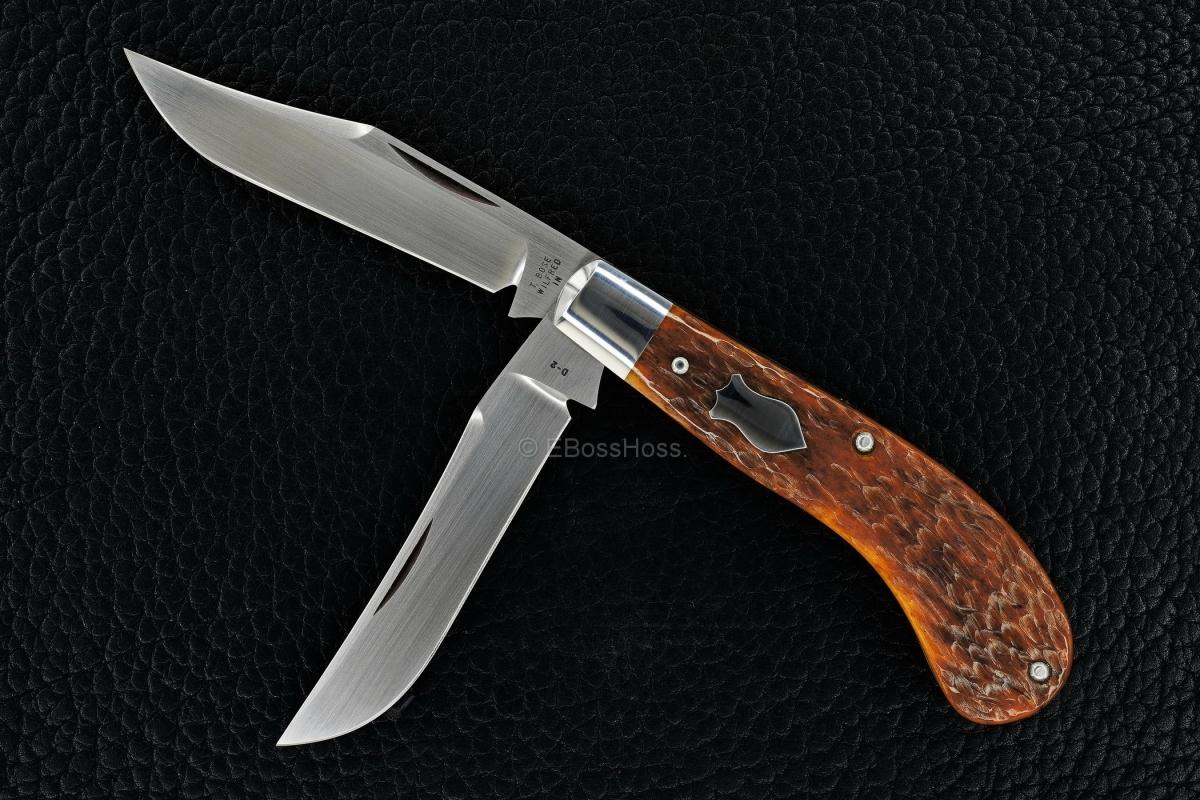 Tony Bose Custom Camel-Bone Small Saddlehorn Trapper