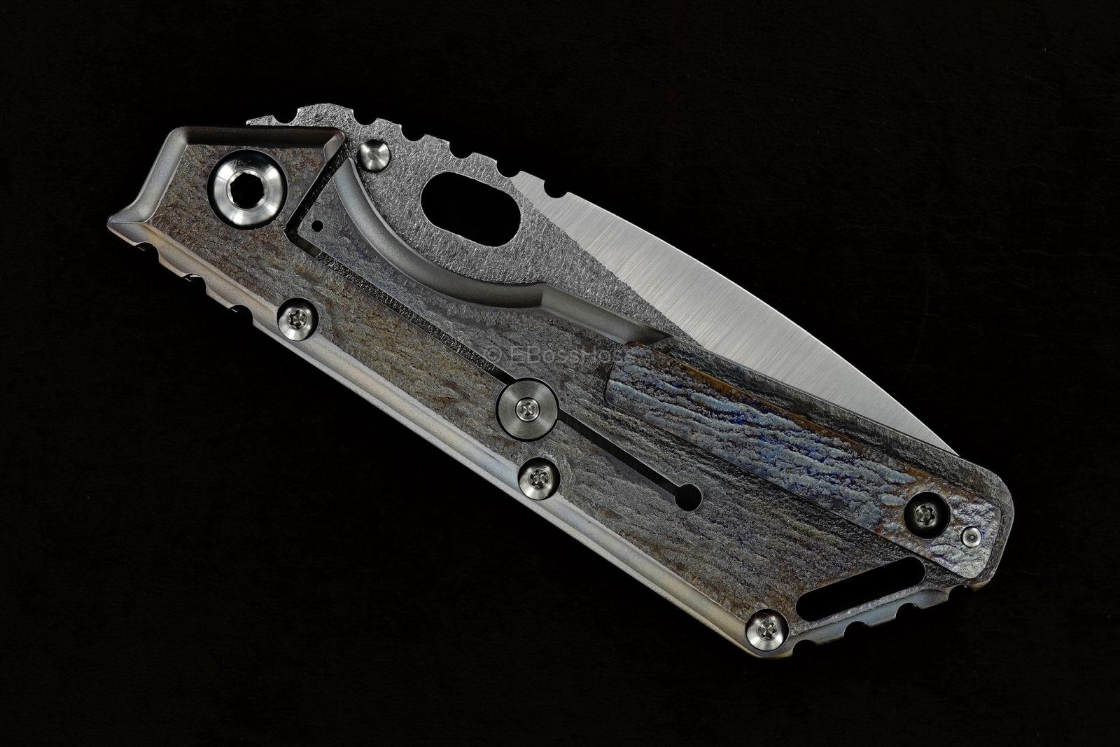 Mick Strider (MSC) Custom Tanto-Dagger XL Framelock
