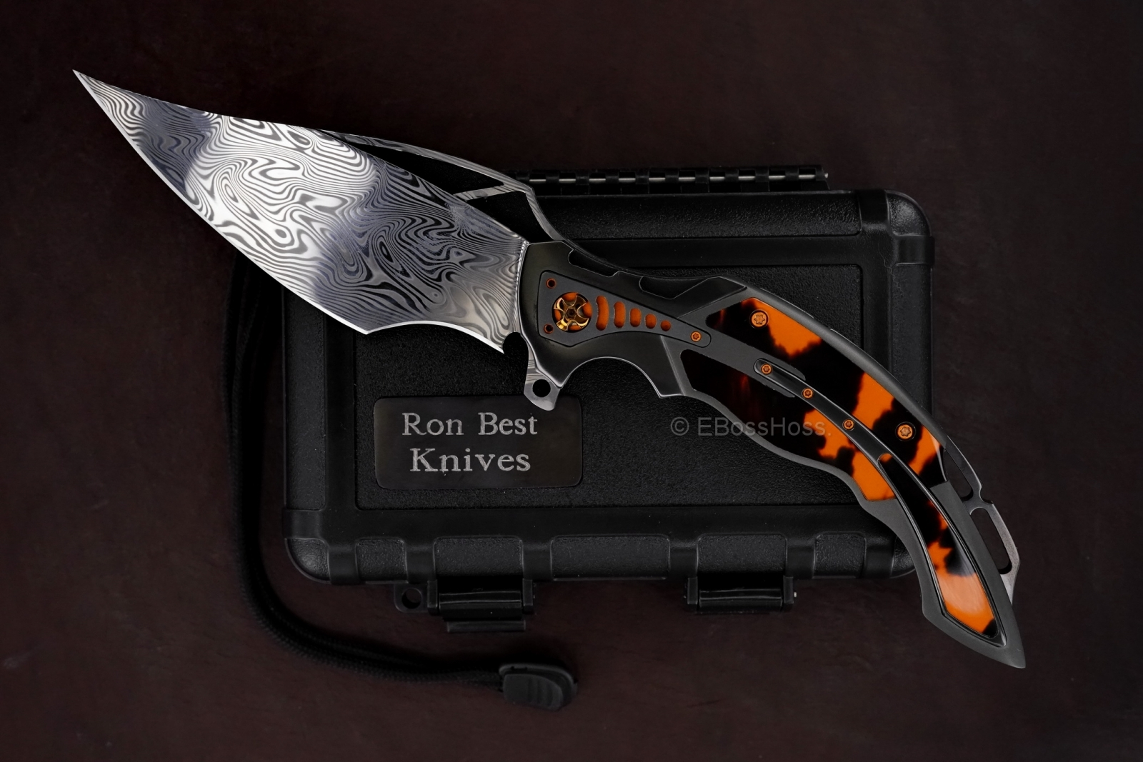 Ronald Best Custom Very Deluxe Phaze 3-2 Flipper