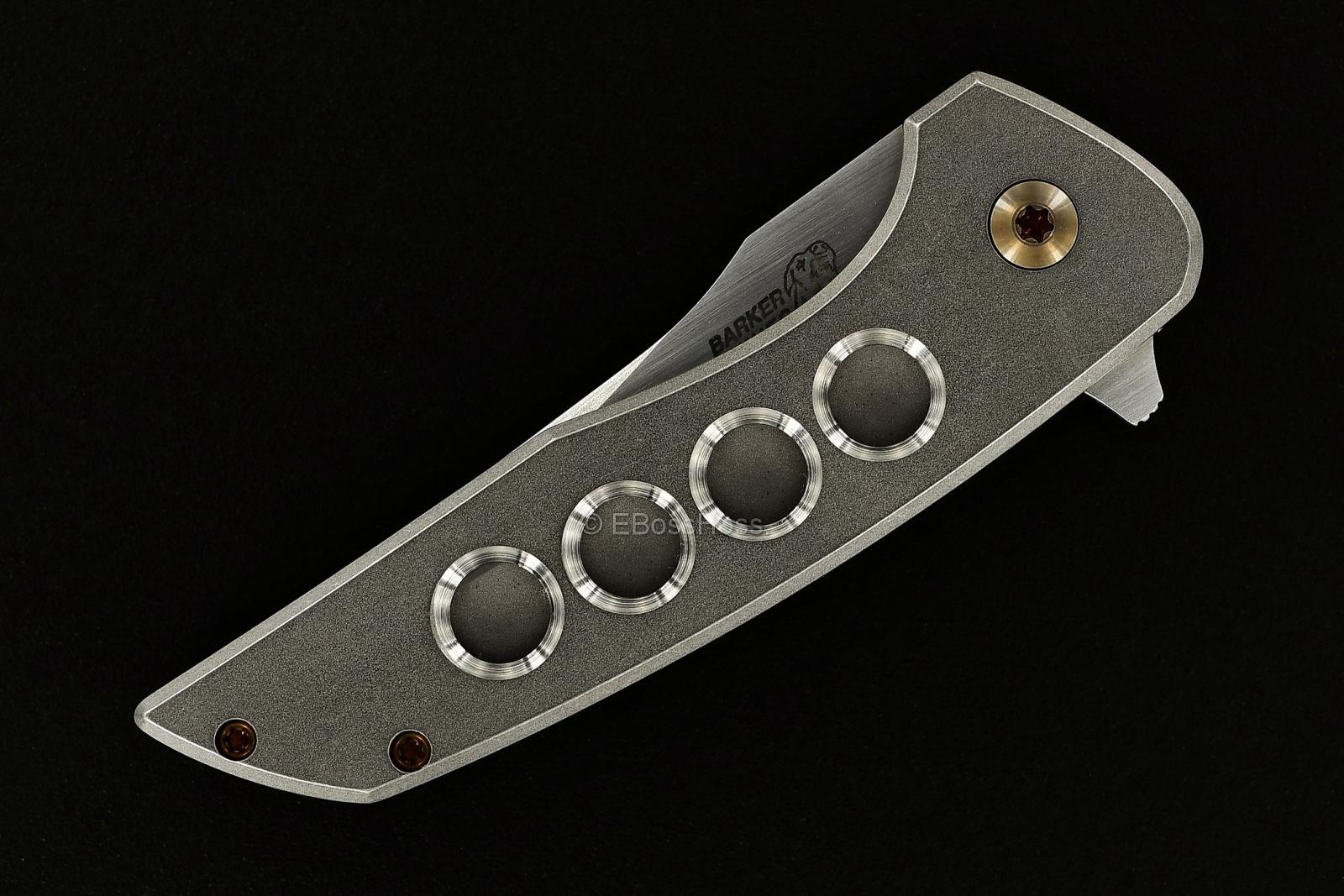 John Barker Semi-Custom Mini Hokaido Flipper