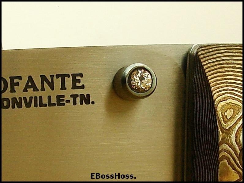 Frank Centofante Deluxe Linerlock