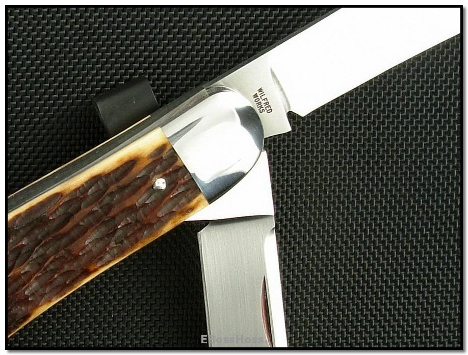 Tony Bose Sowbelly Whittler - Remington Bone