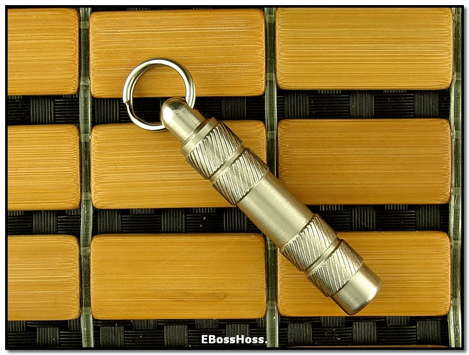 Peter Atwood Tactical Whistle - Stainless Steel