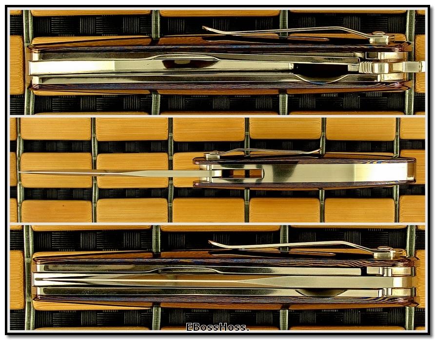 Phil Boguszewski Classic Prototype - Timascus Scales