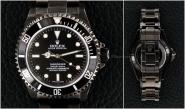 ROLEX Black PVD SS No-Date Submariner - Ref 14060M
