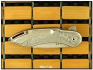 Todd Begg Damascus Gents Glimpse Flipper