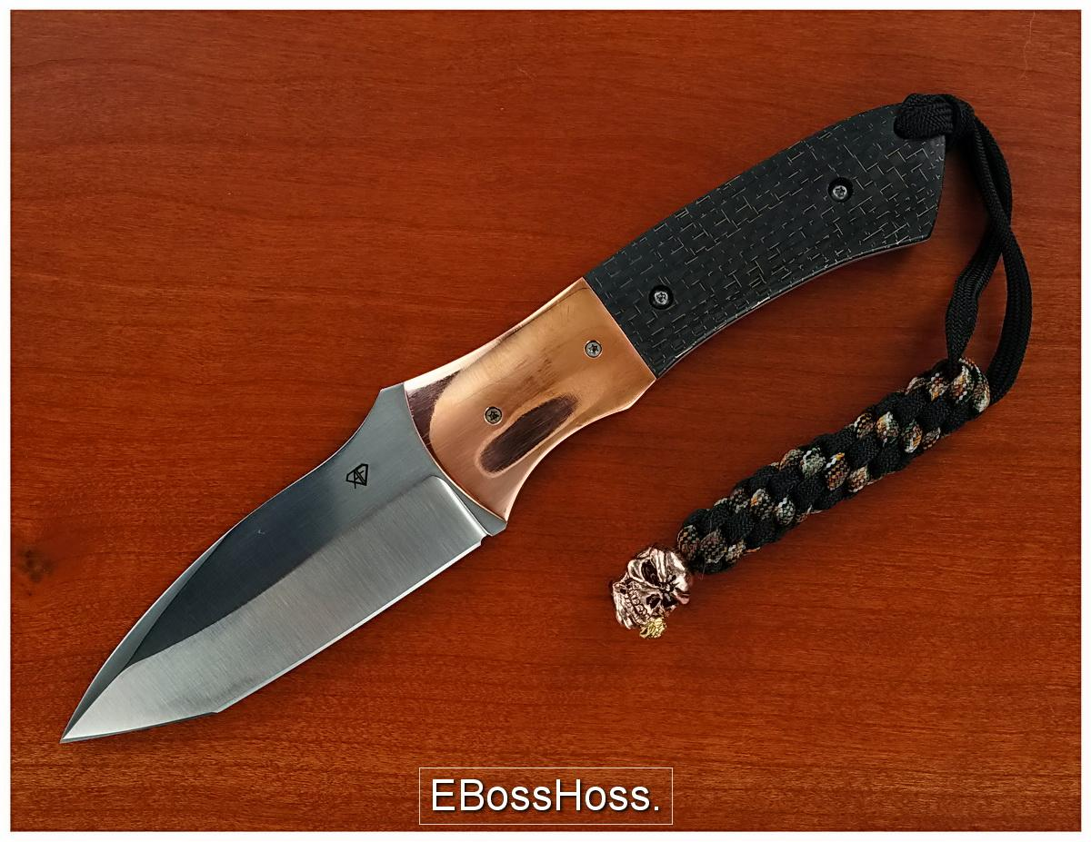 Aaron Frederick Deluxe Fixed Blade