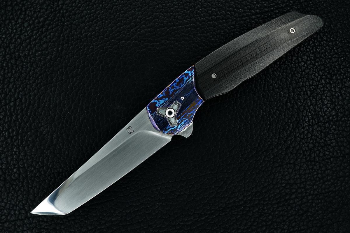 Brad Southard Custom Very Deluxe Flippin Tanto