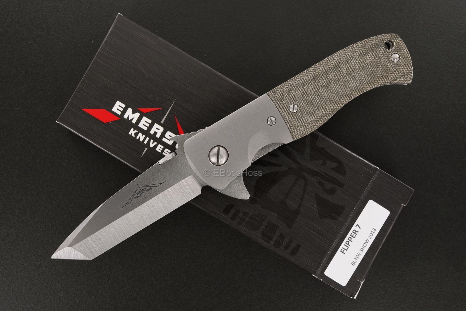 Ernie Emerson Custom Flipper 7