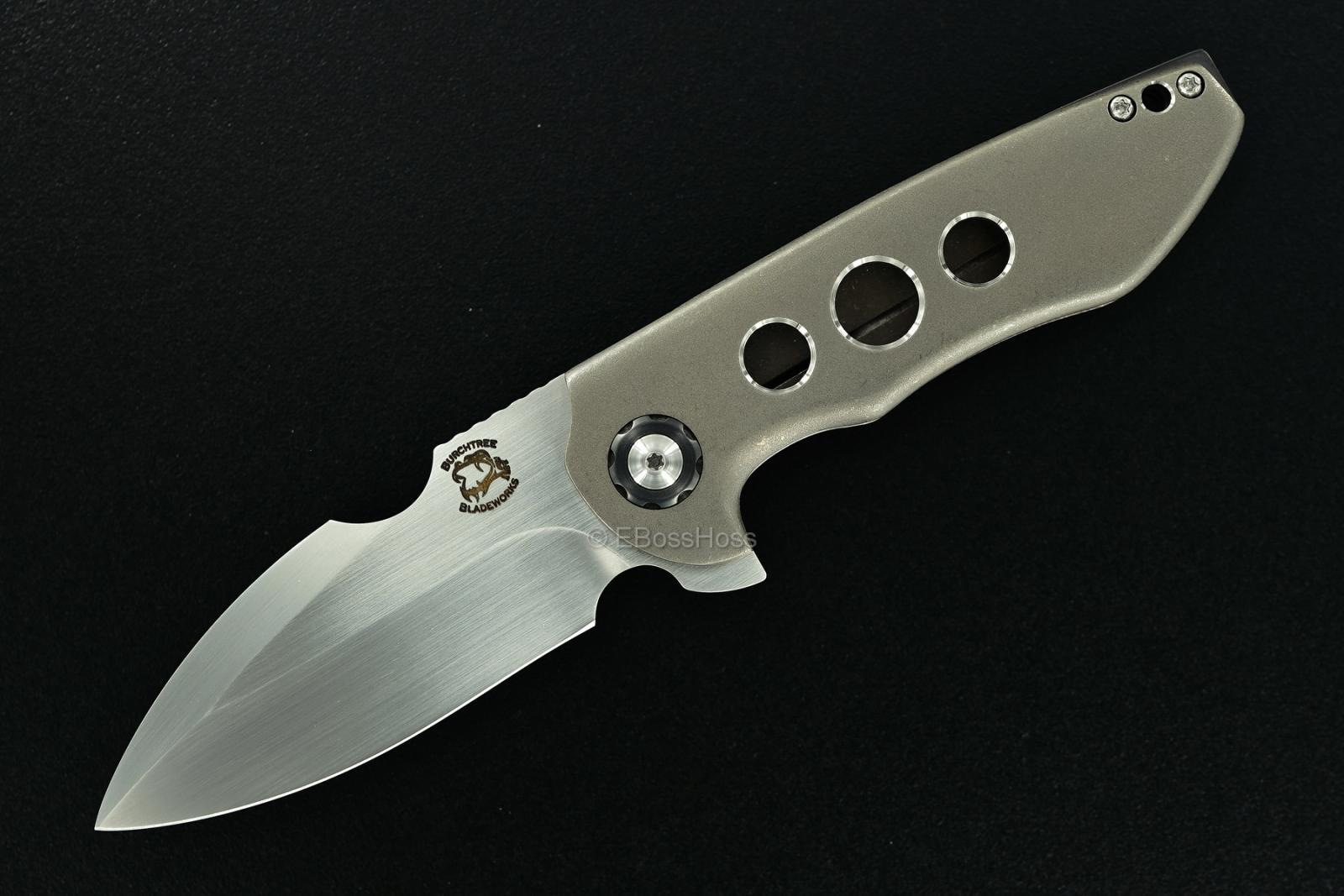 Michael Burch Custom EDC Genesis Framelock Flipper