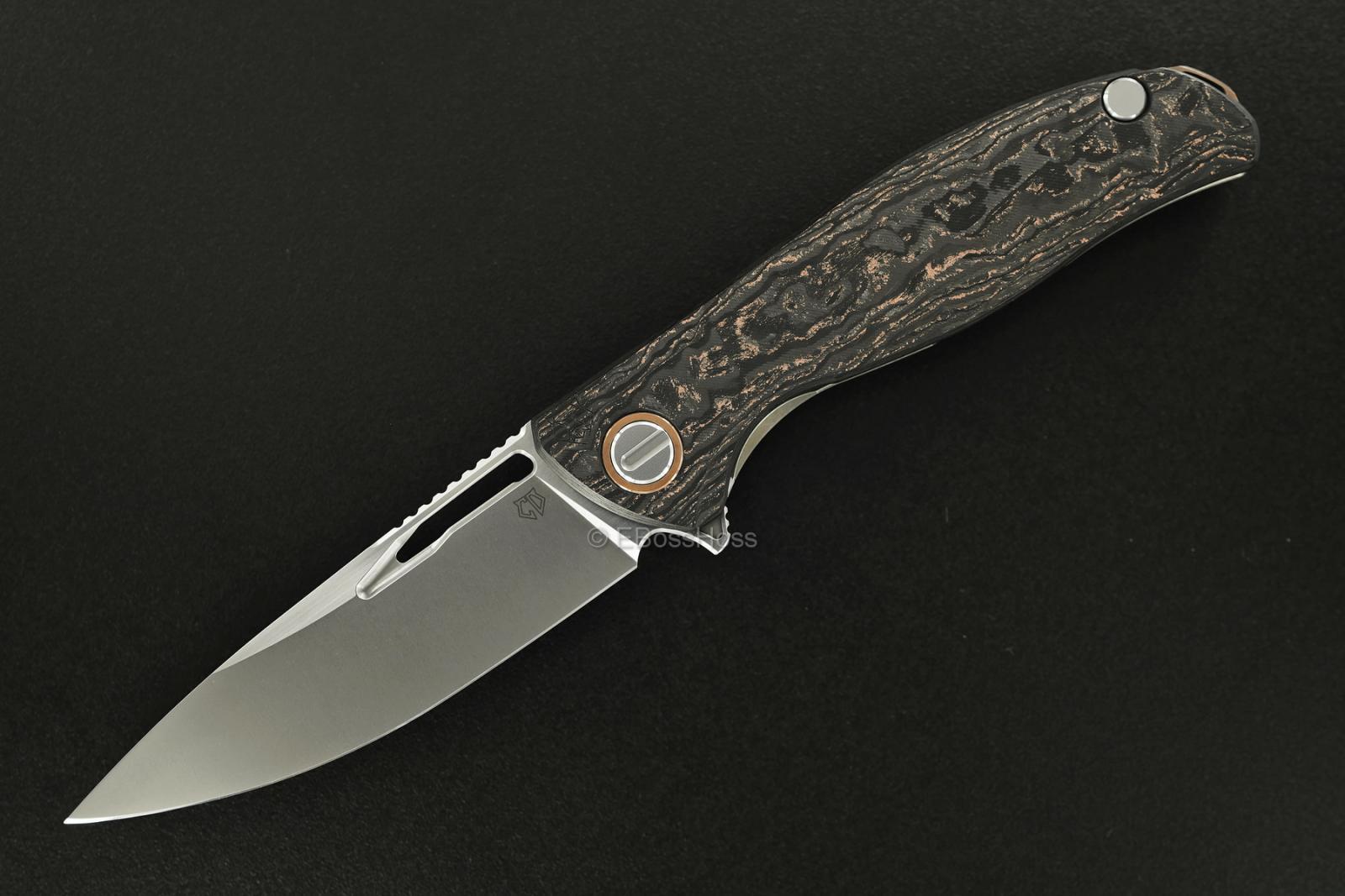Sergey Shirogorov Custom Division Hati Bronze Flipper