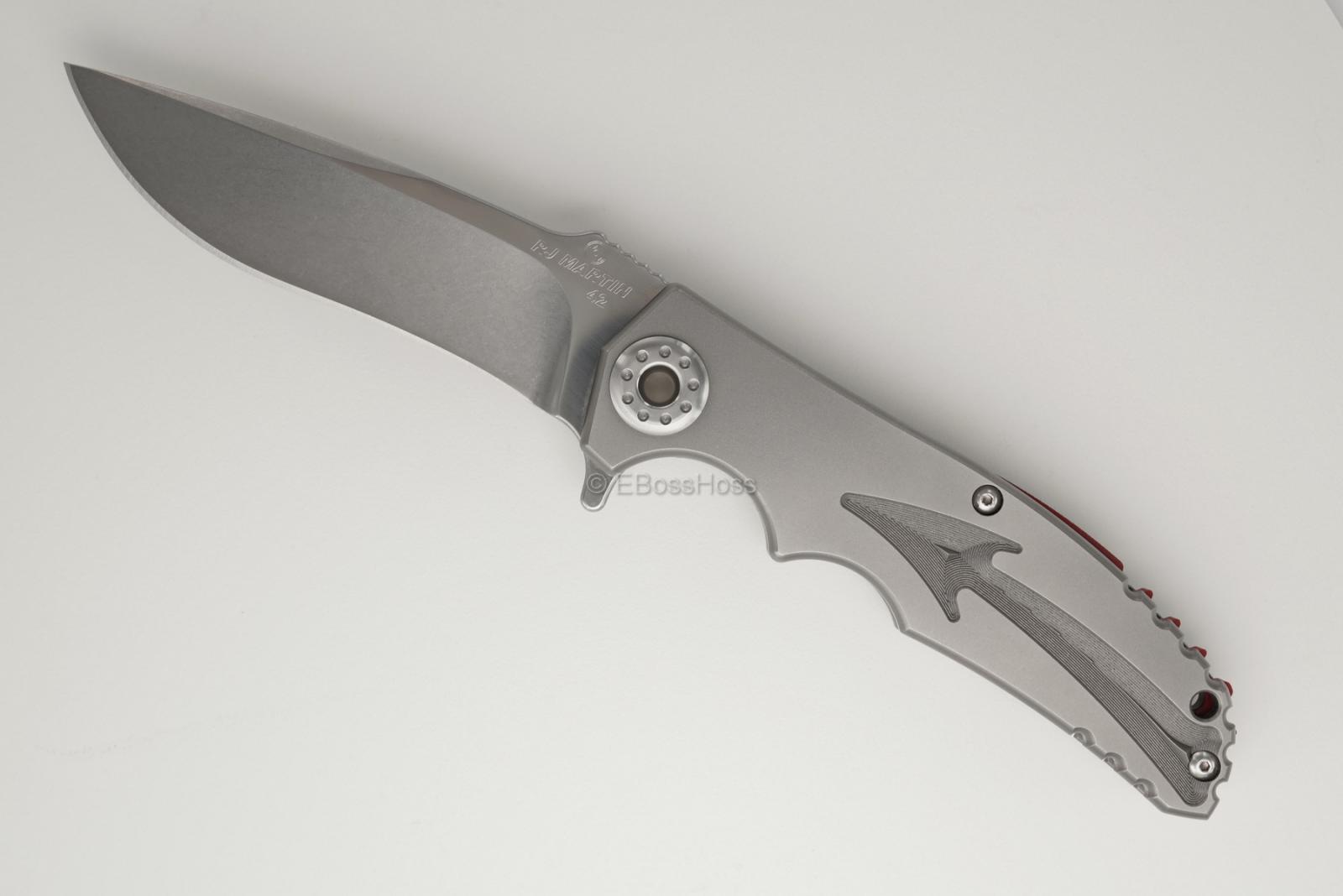 RJ Martin Custom Devilstator Pivotless-Pivot Flipper