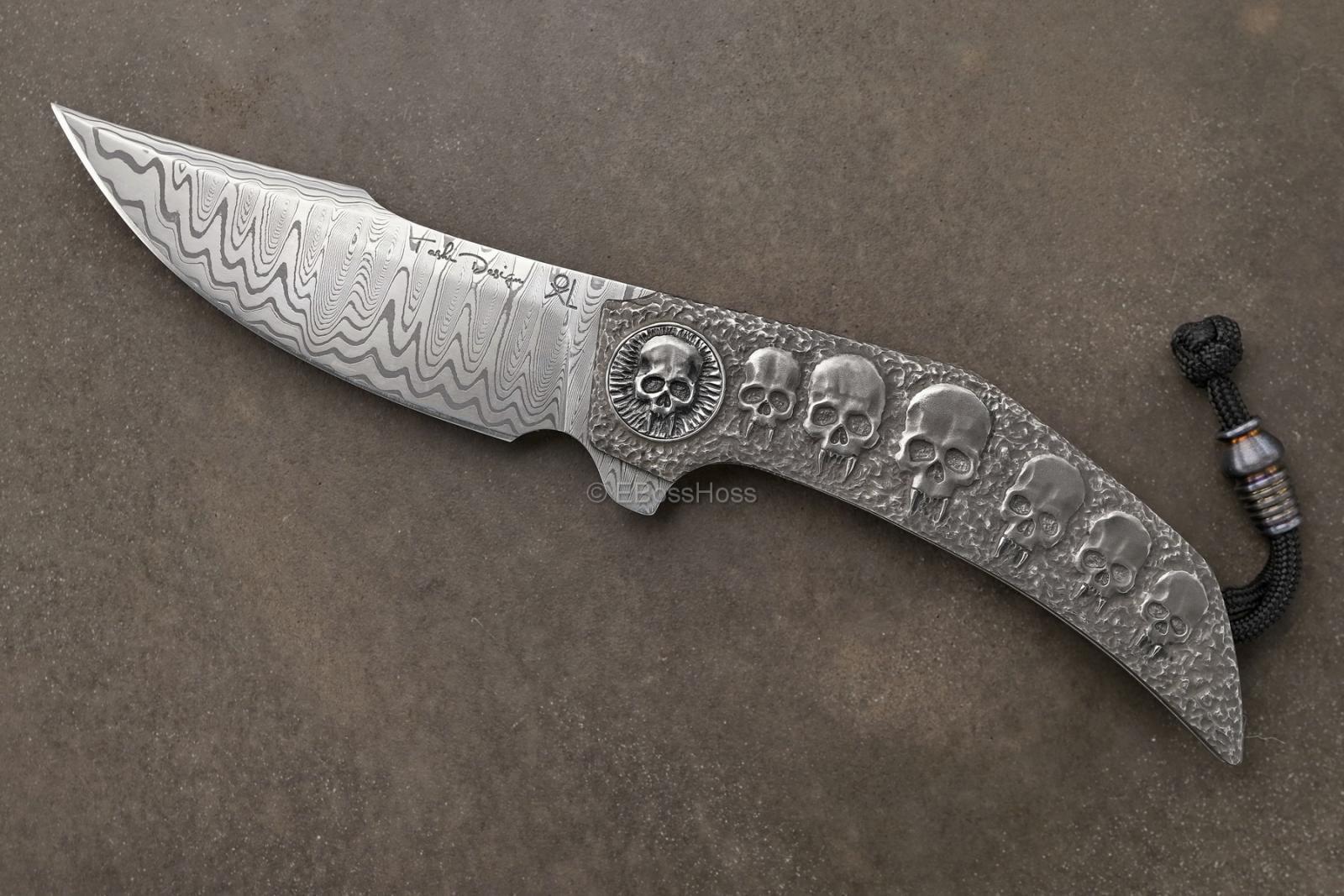 Gudy van Poppel Custom Deluxe Engraved Xerxes Flipper Collaboration