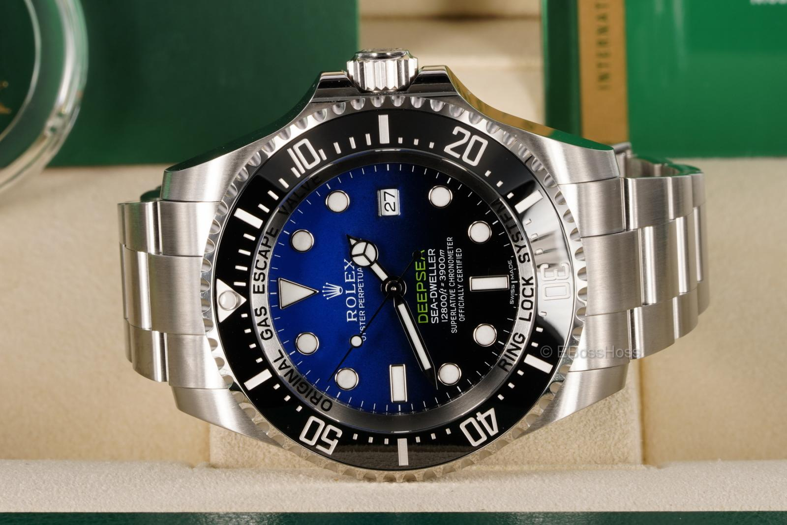 Rolex DEEPSEA D-Blue 44 mm James Cameron - 126660