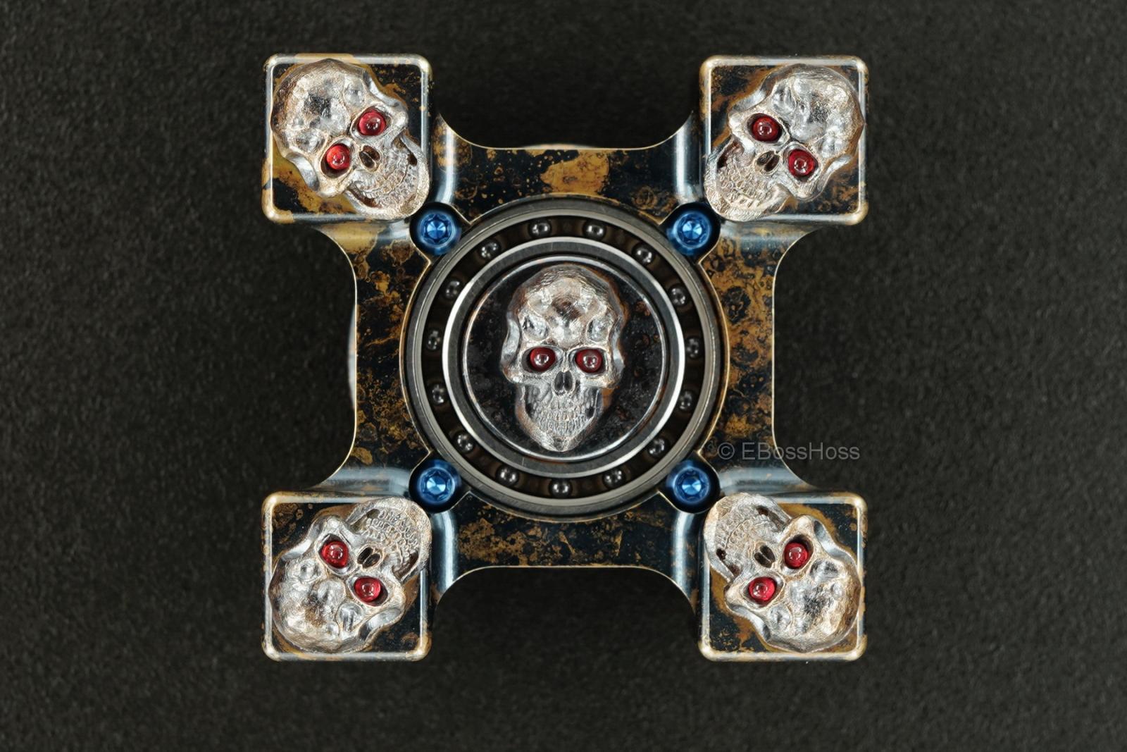 Steel Flame Derrick Obatake -ONE- Custom XL Darkness Sledge Ring Spin