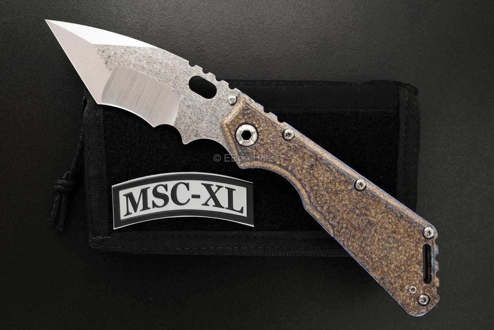 Mick Strider (MSC) Custom Nightmare Tanto XL