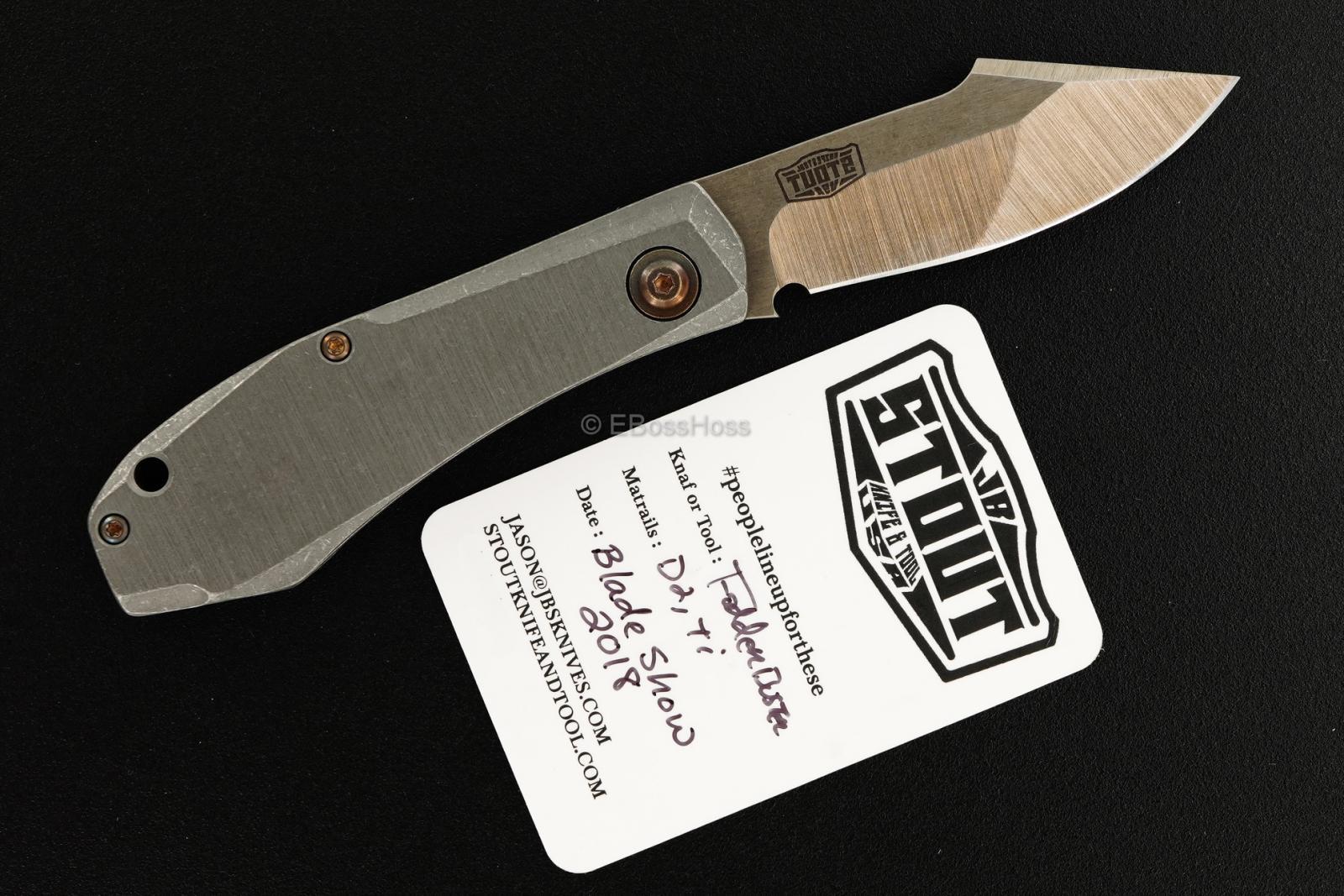 JB Stout Custom Fodder Buster Slipjoint