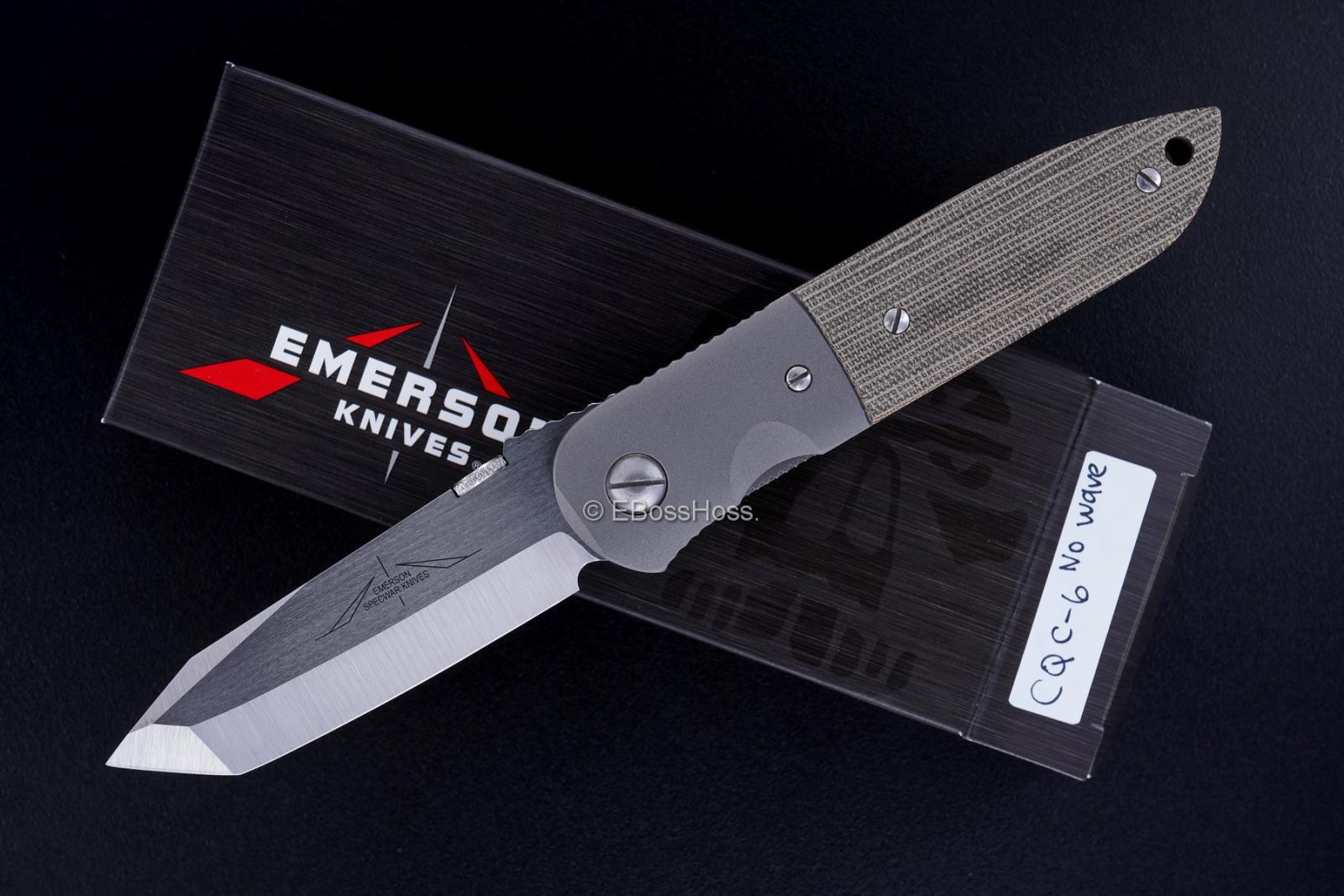 Ernie Emerson No Wave CQC-6