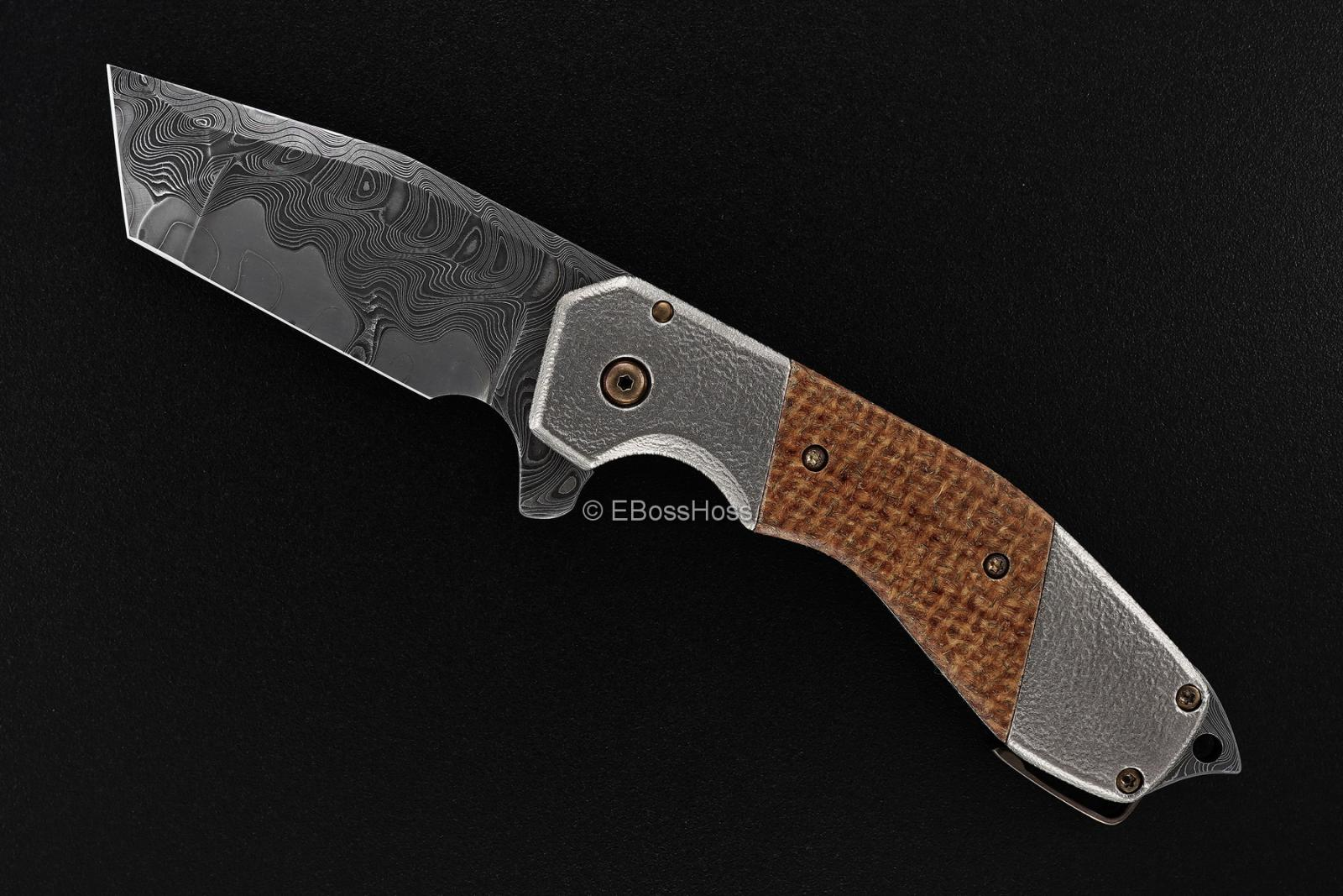Jon Graham Custom Deluxe Razel Bolsterlock Flipper