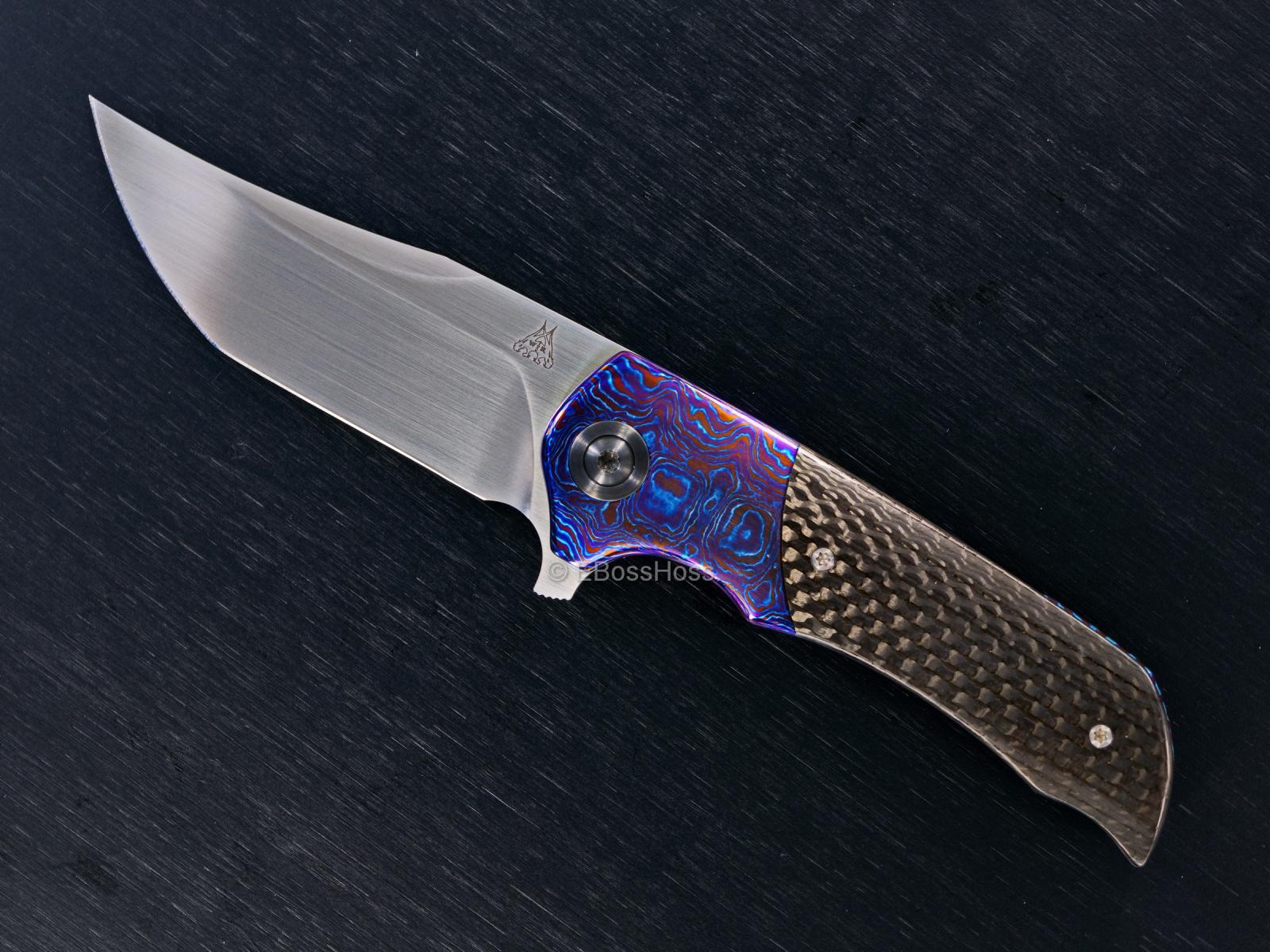 Walter Randolph (WR Bladeworks) Custom Deluxe Mini Wyvern Flipper