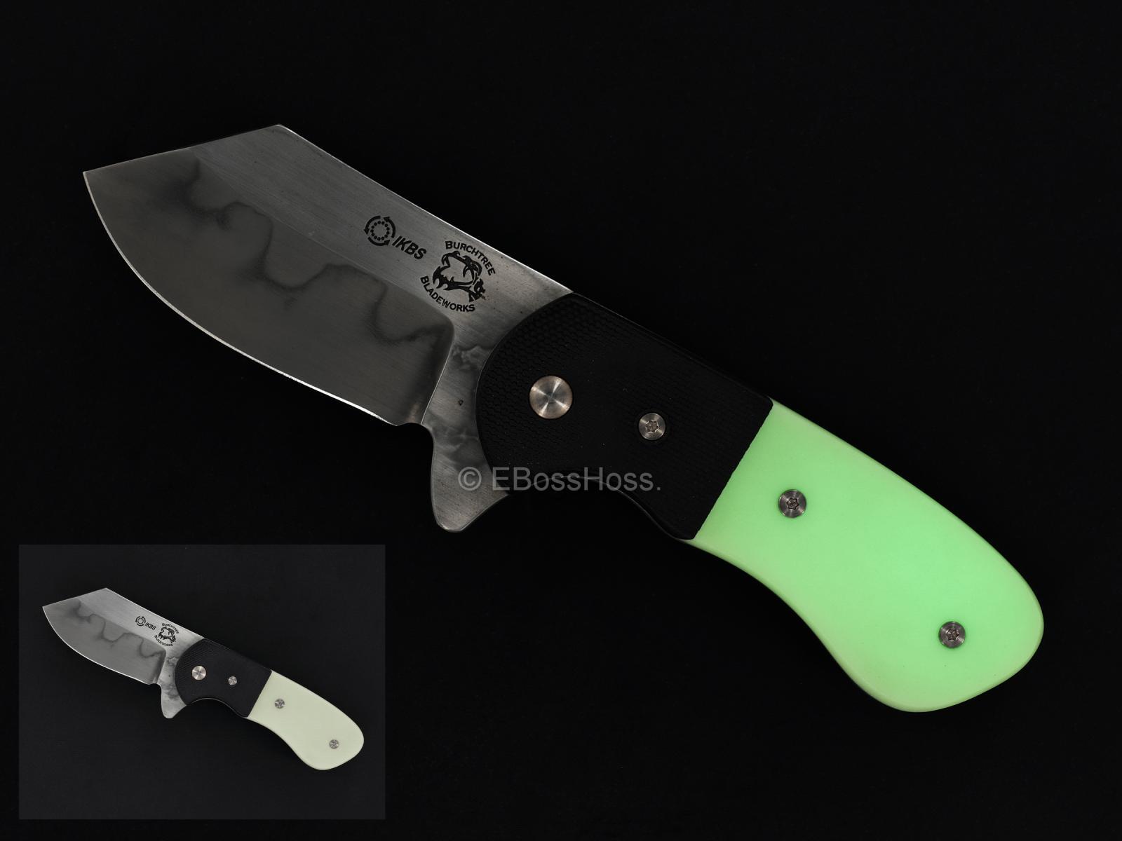 (Burchtree Bladeworks) Bolstered Mini Nova Framelock Flipper
