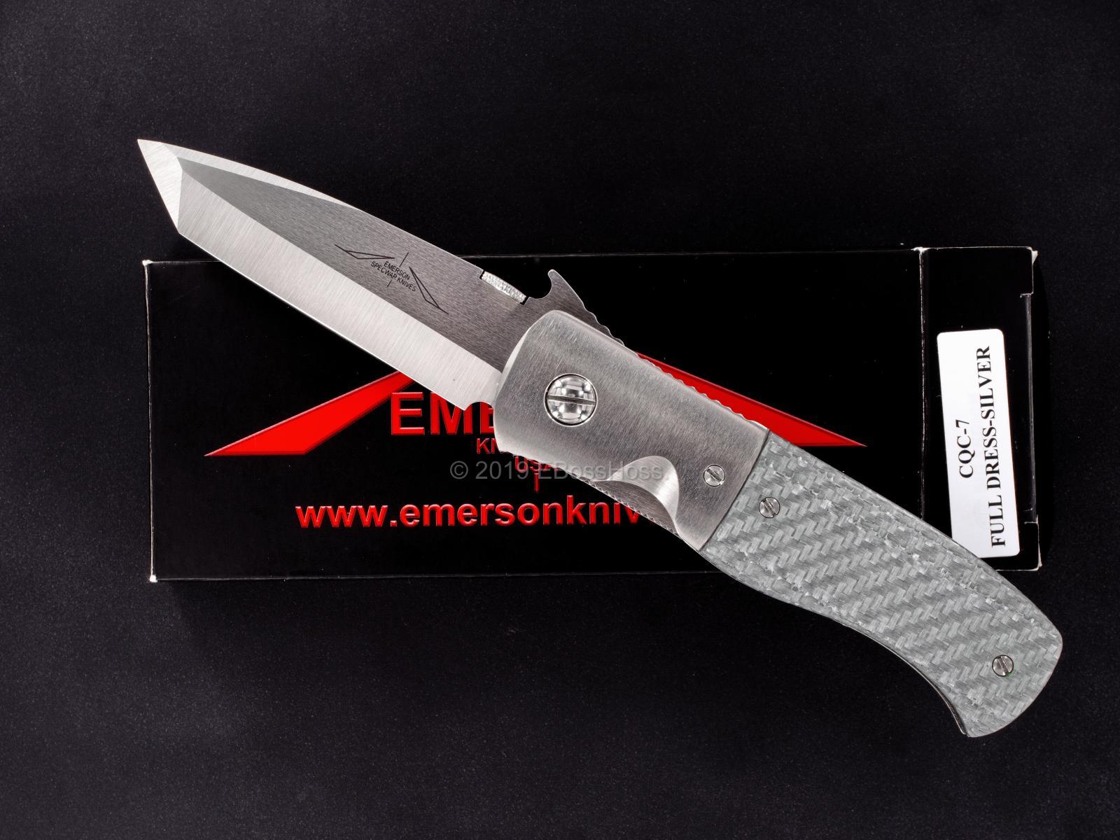 Ernie Emerson Full Dress Custom CQC-7 w/Wave