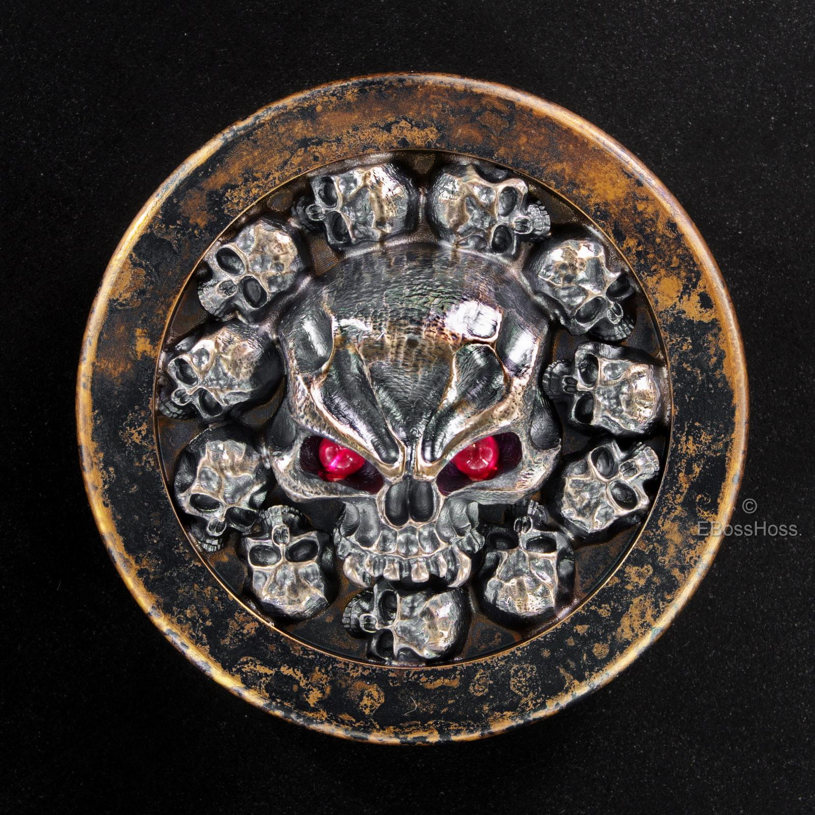 Steel Flame ''ONE'' Vigilant XL Challenge Coin by Derrick Obatake