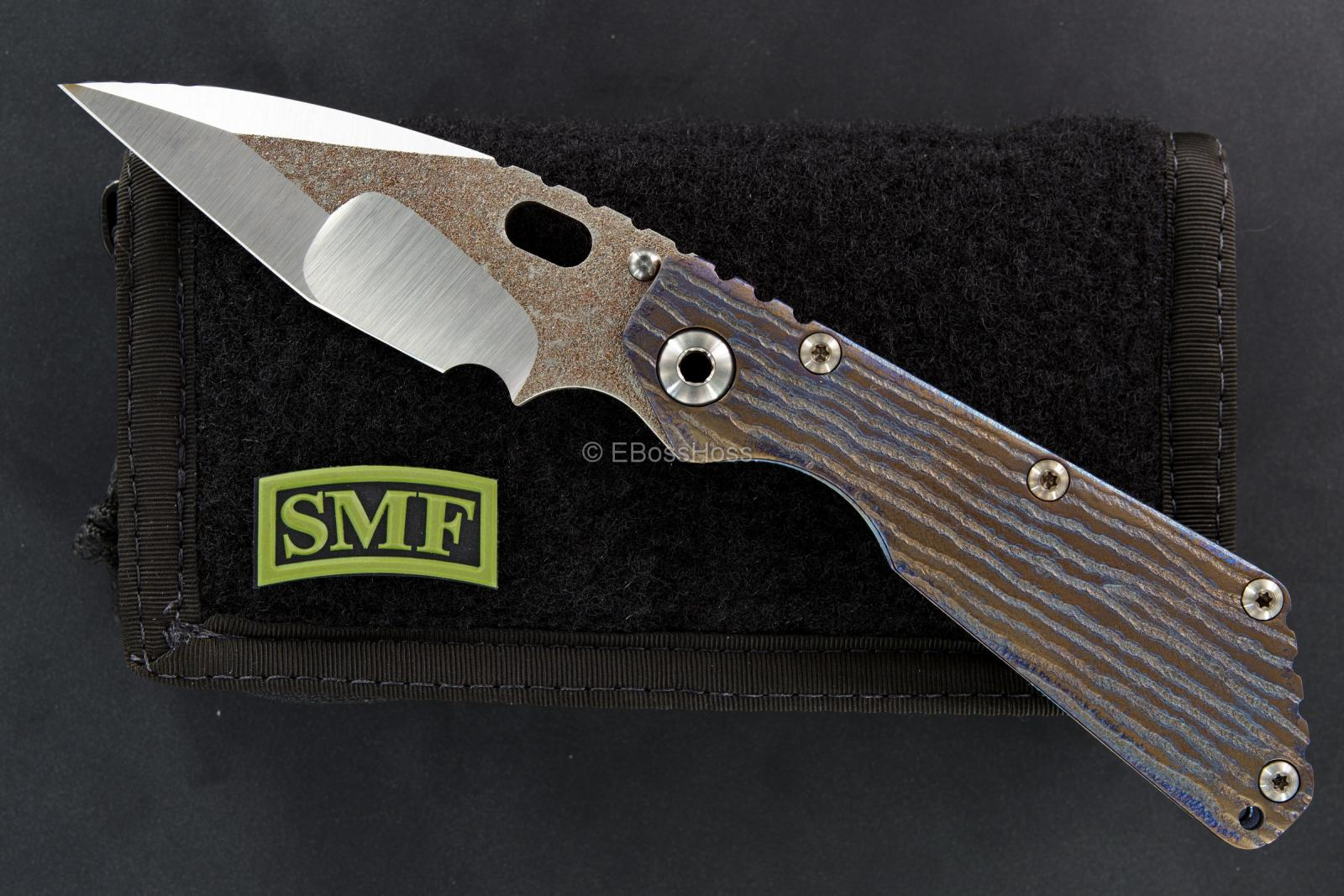 Mick Strider Custom (MSC) Nightmare Tanto Groot SMF Framelock Folder