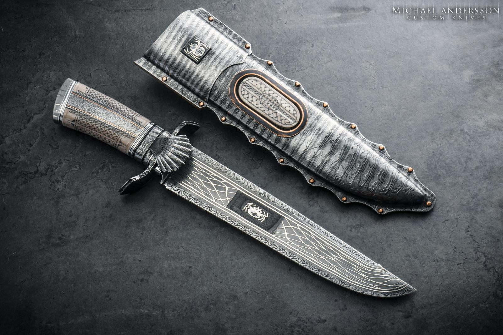 Micke Andersson Custom Sole-Authored Large Custom Bowie
