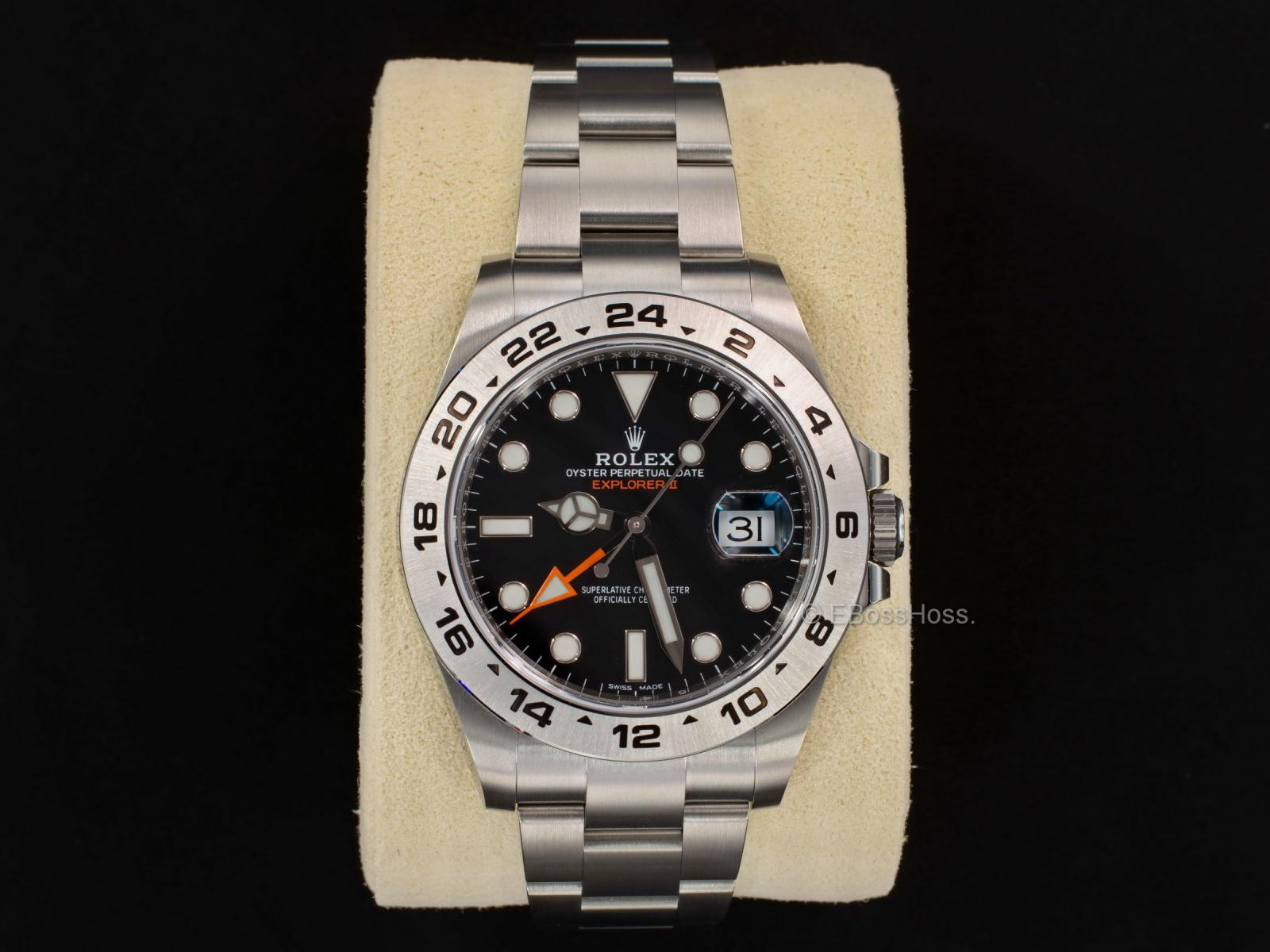 Rolex Explorer II  Black - 216570