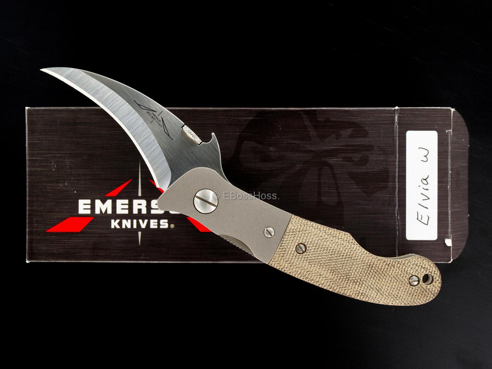 Ernie Emerson Custom Bolstered Waved Elvia