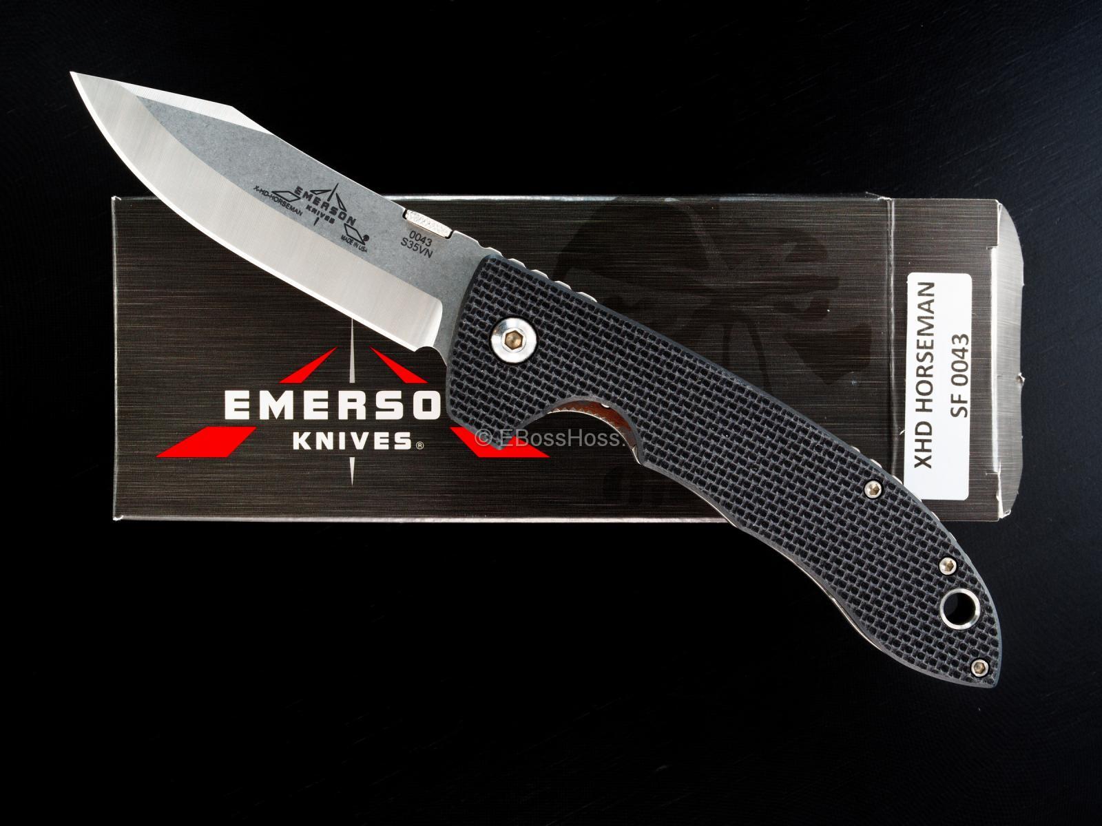 Emerson Knives XHD Horseman