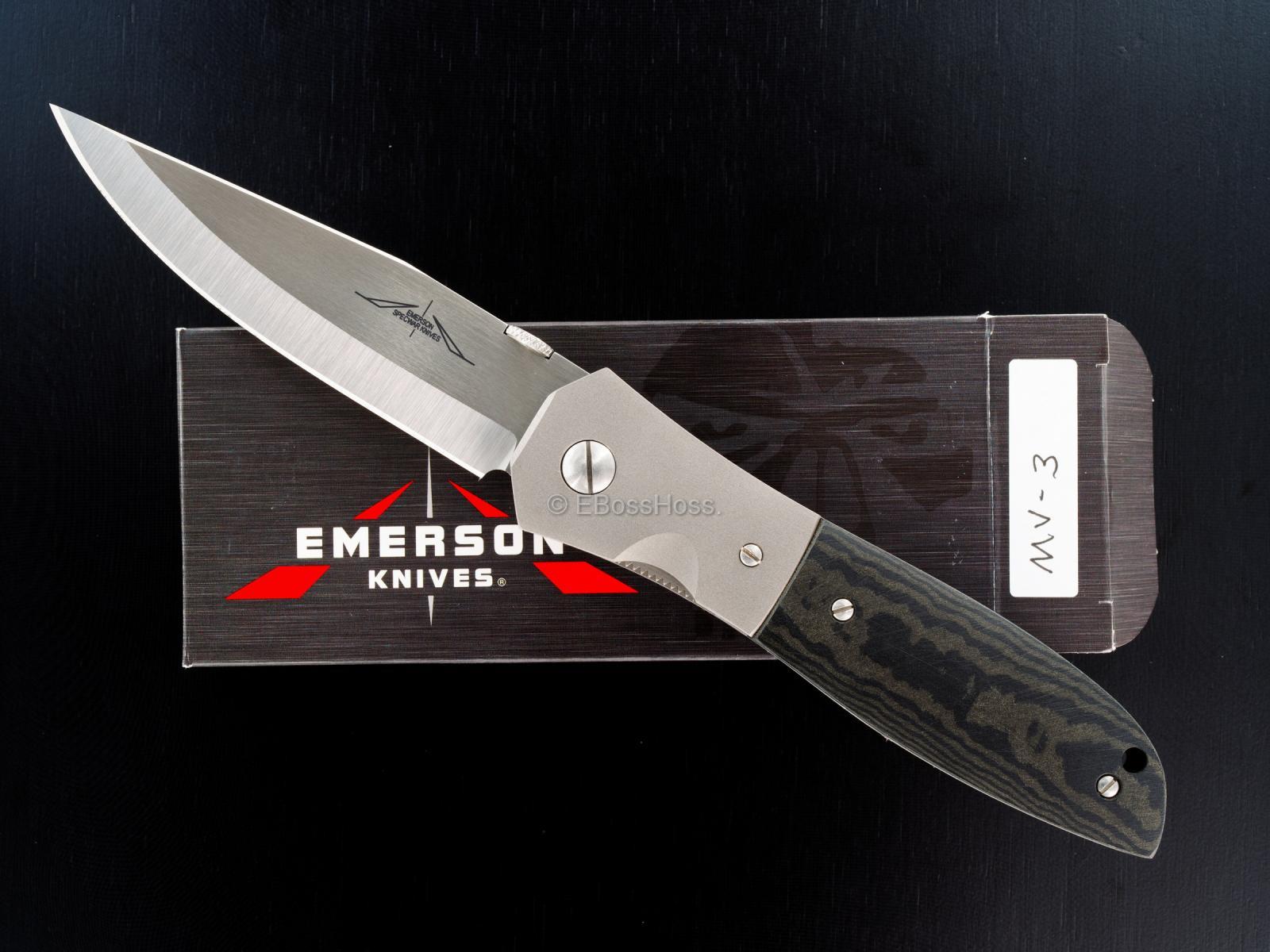 Ernie Emerson Custom MV-3 (aka Viper 3)