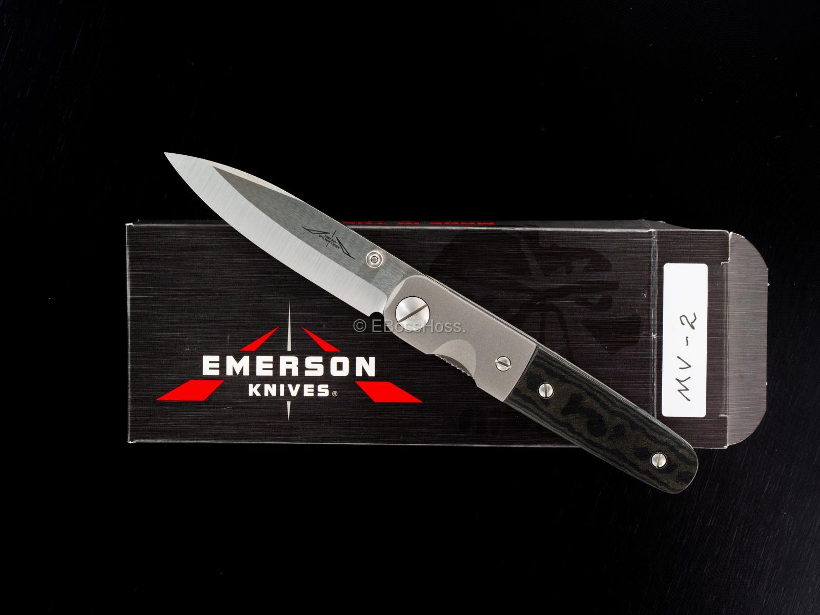Ernie Emerson Custom MV-2 (aka Viper 2)